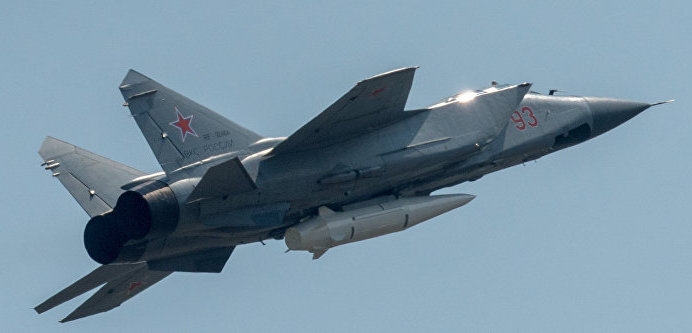 Russia's Kinzhal Hypersonic Missiles Active