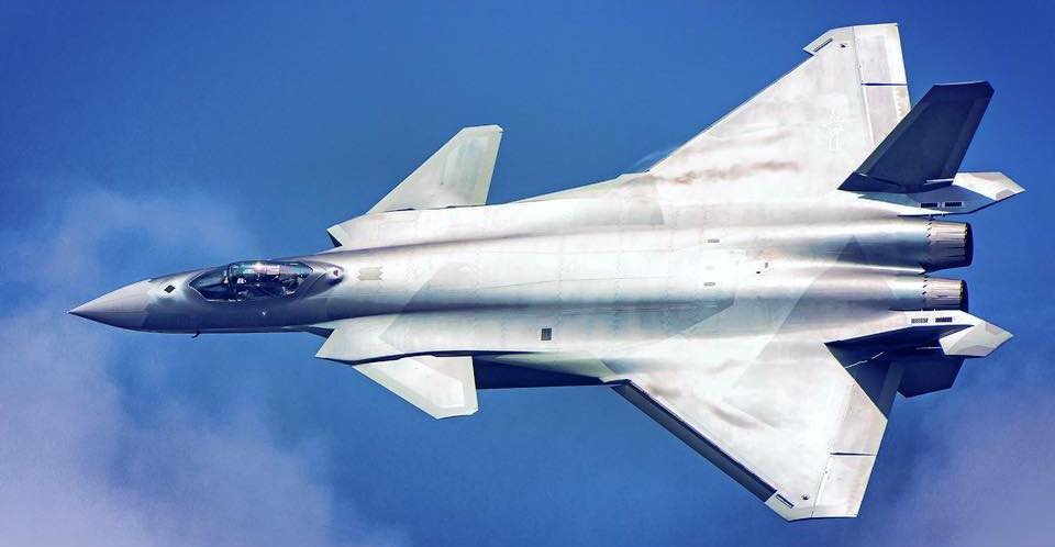 China's Elite J-20 Stealth Fighters Conduct Maritime ...