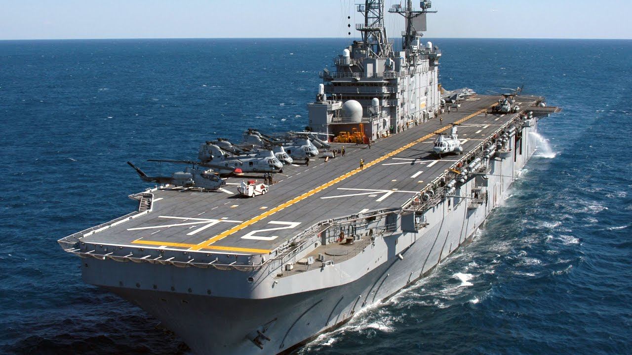 Russia's Massive New Helicopter Carriers Could Displace 35,000 Tons