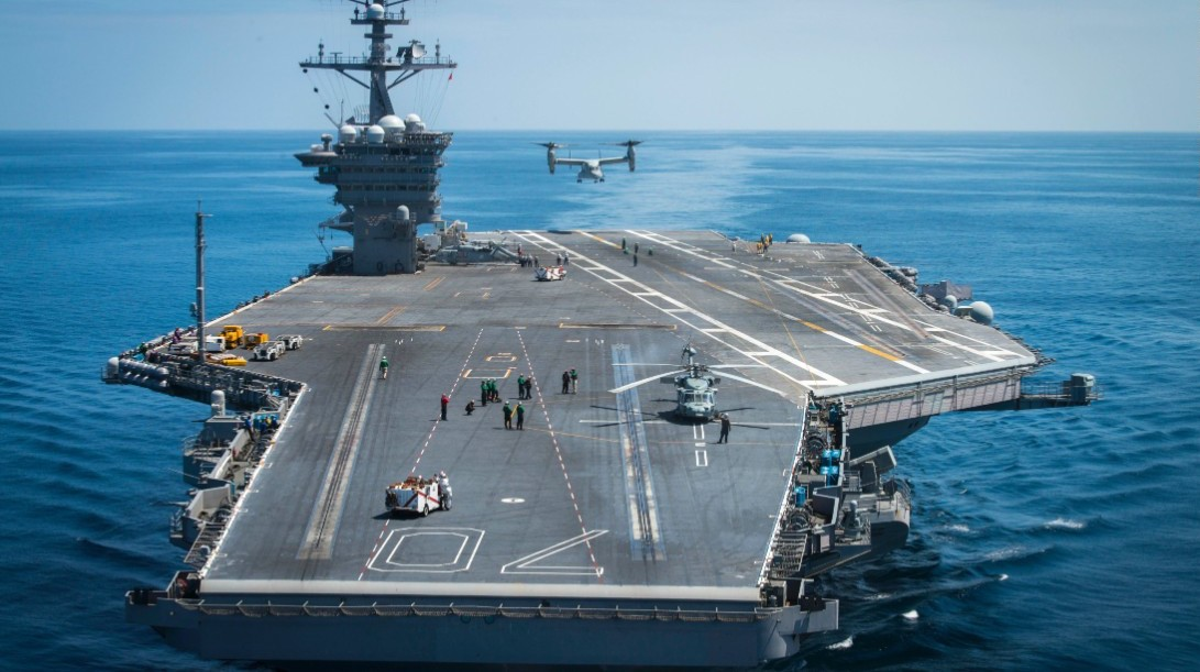 is a u s fleet of ten supercarriers sustainable rapidly rising