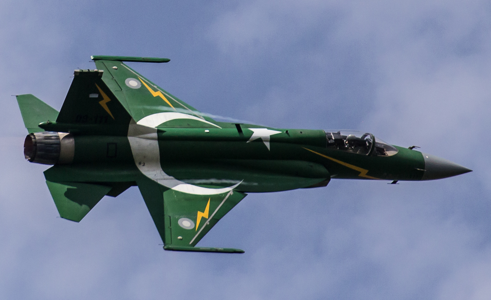 AESA Equipped Pakistani JF-17 Fighters Coming to Israel's Border