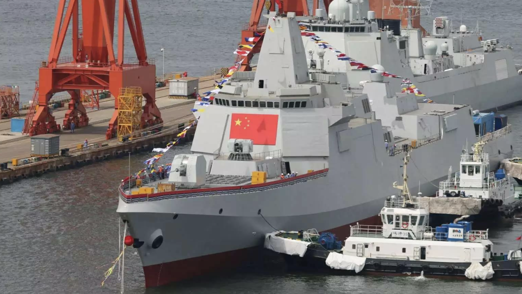 China's Elite Type 055 Destroyers - Not its Aircraft Carriers - Are