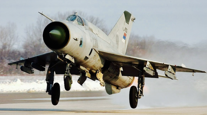When a MiG-21 is better than an F-22