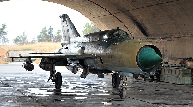 Syrian Arab Air Force MiG-21