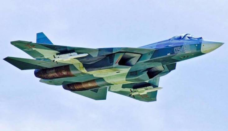 Su-57 Next Generation Air Superiority Fighter
