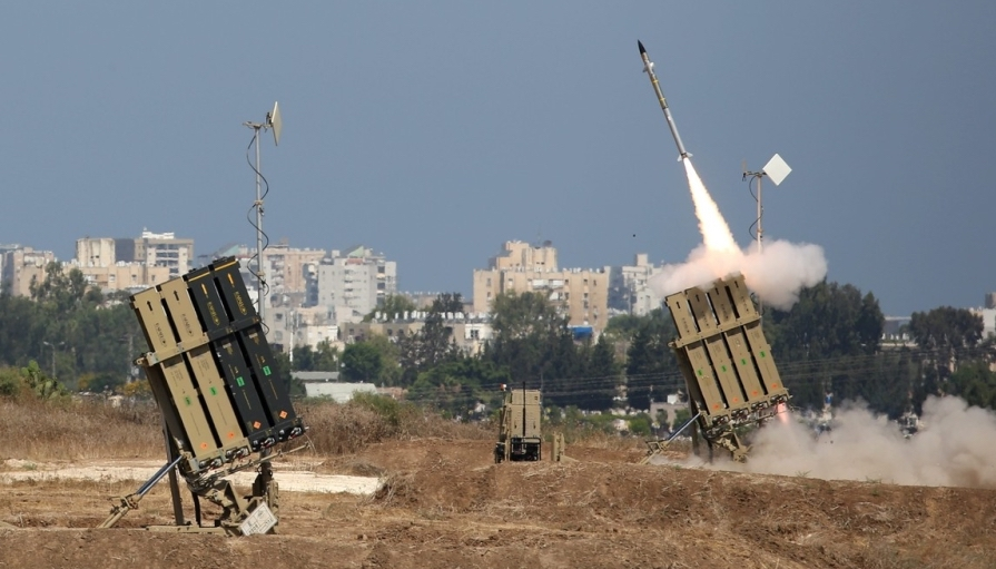 Surface to Air Missile Batteries From the Iron Dome System