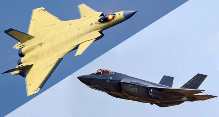 J-20 vs. F-35;