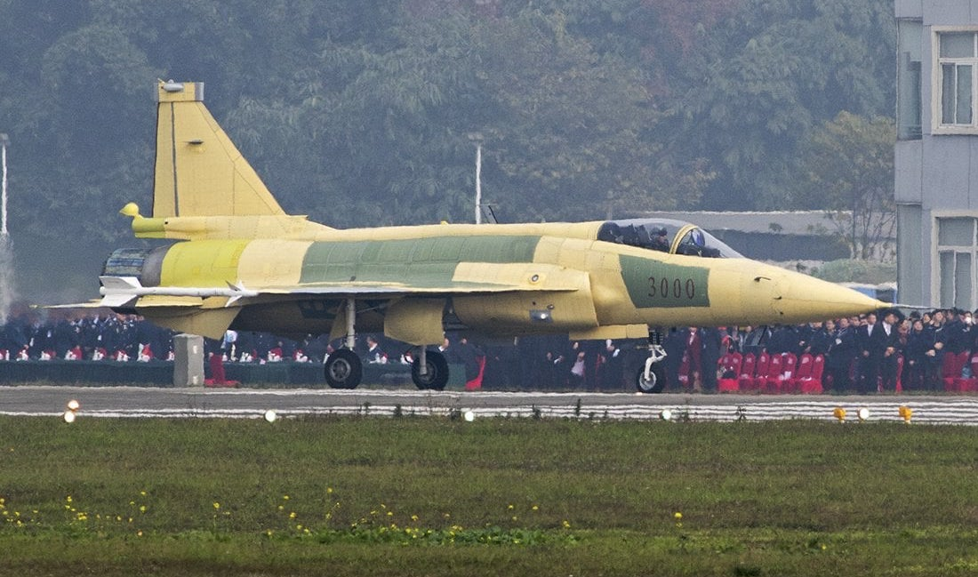 First Images of Sino-Pakistani JF-17 Block 3 Next Generation Fighter Released